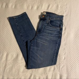 MADEWELL The High-Rise Slim BoyJean 25P